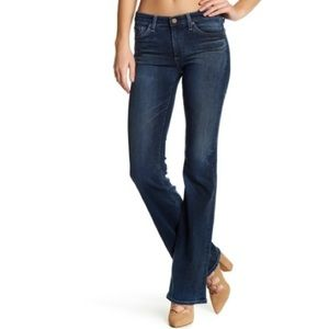 AG The Angel Dark Wash Bootcut Jeans!